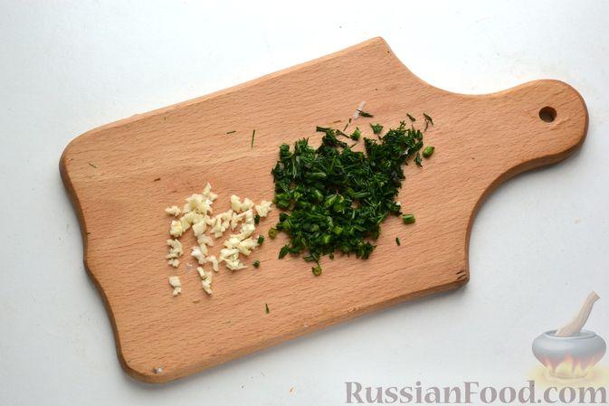Фото приготовления рецепта: Борщ с курицей и квашеной капустой - шаг №17