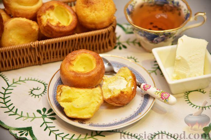Фото к рецепту: Полые кукурузно-сырные булочки на молоке