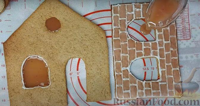 Фото приготовления рецепта: Пряничный домик - шаг №12