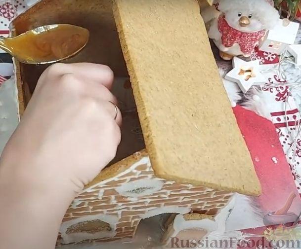 Фото приготовления рецепта: Пряничный домик - шаг №19