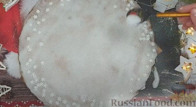 Фото приготовления рецепта: Пряничный домик - шаг №17