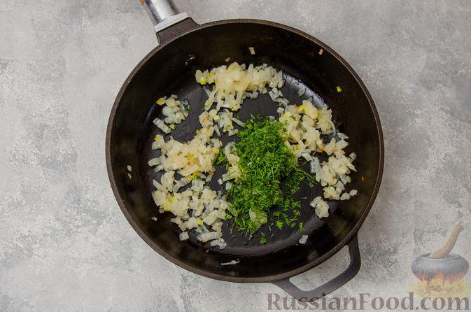 Фото приготовления рецепта: Постные вареники с пекинской капустой и морковью - шаг №21