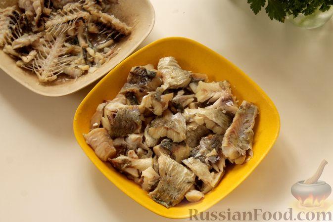 Фото приготовления рецепта: Рыбный суп с рисом - шаг №6