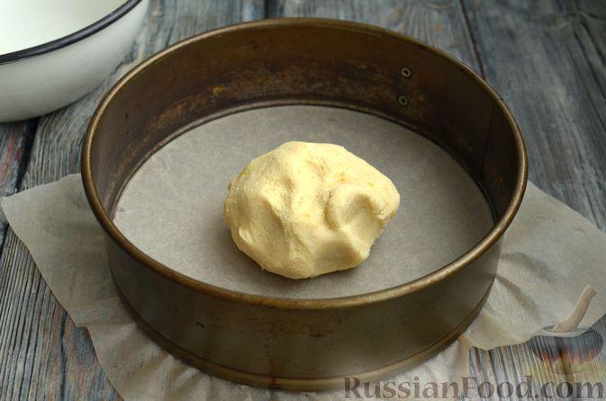 Фото приготовления рецепта: Песочный тарт со сливочно-лимонным муссом - шаг №5