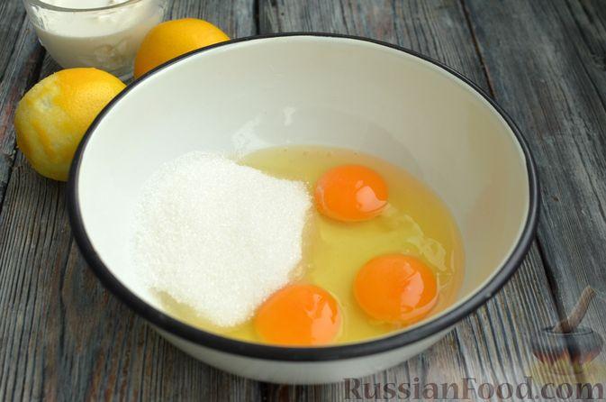 Фото приготовления рецепта: Песочный тарт со сливочно-лимонным муссом - шаг №8