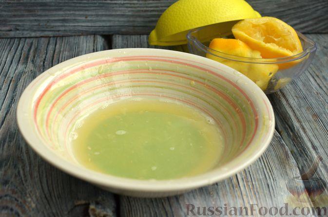 Фото приготовления рецепта: Песочный тарт со сливочно-лимонным муссом - шаг №9