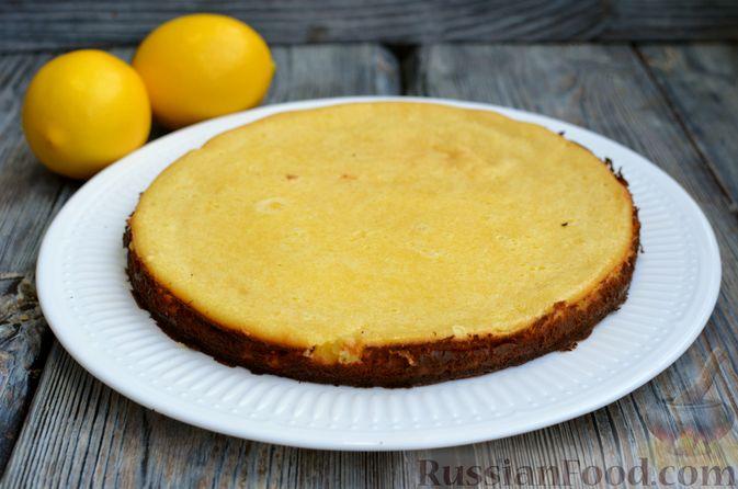 Фото приготовления рецепта: Песочный тарт со сливочно-лимонным муссом - шаг №14