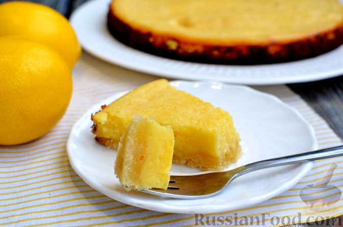 Фото приготовления рецепта: Песочный тарт со сливочно-лимонным муссом - шаг №15