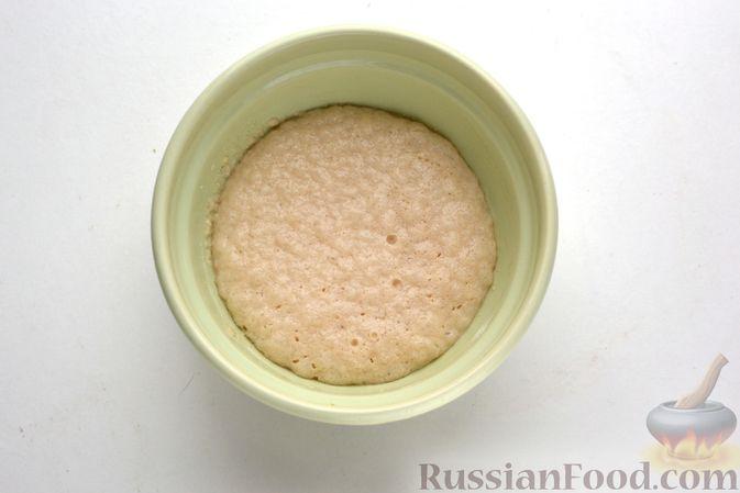 Фото приготовления рецепта: Дрожжевые пирожки с куриной печенью - шаг №13