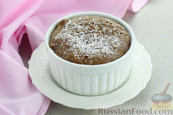 Фото к рецепту: Шоколадное суфле