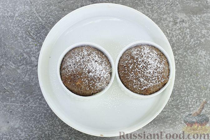 Фото приготовления рецепта: Шоколадное суфле - шаг №11