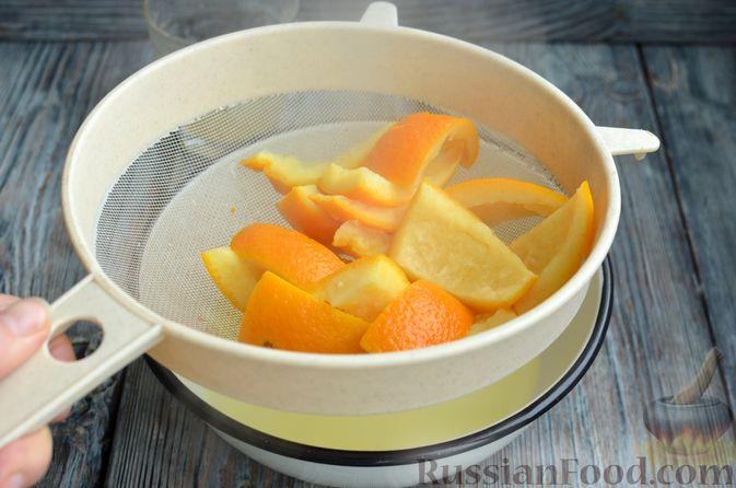 Фото приготовления рецепта: Молочно-апельсиновое желе - шаг №9