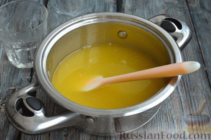 Фото приготовления рецепта: Молочно-апельсиновое желе - шаг №10