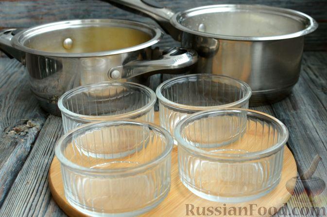 Фото приготовления рецепта: Молочно-апельсиновое желе - шаг №12