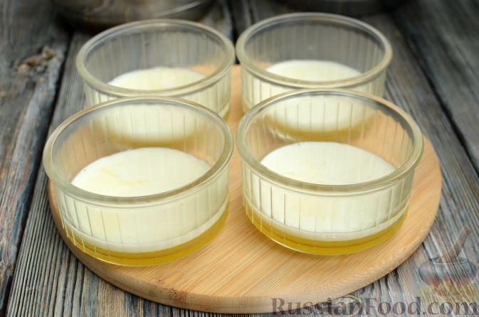Фото приготовления рецепта: Молочно-апельсиновое желе - шаг №14