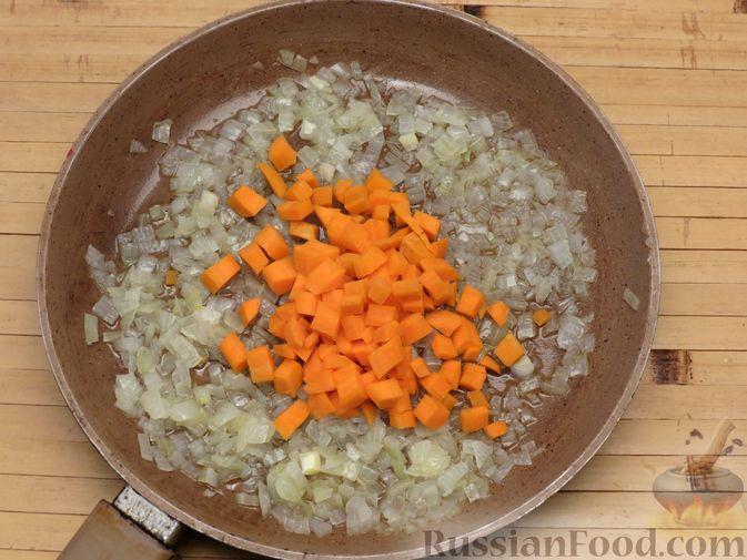Фото приготовления рецепта: Рис с тыквой (на сковороде) - шаг №7