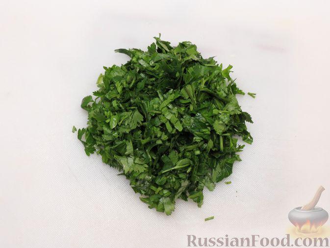 Фото приготовления рецепта: Тыква, тушенная в томатно-соевом соусе - шаг №11