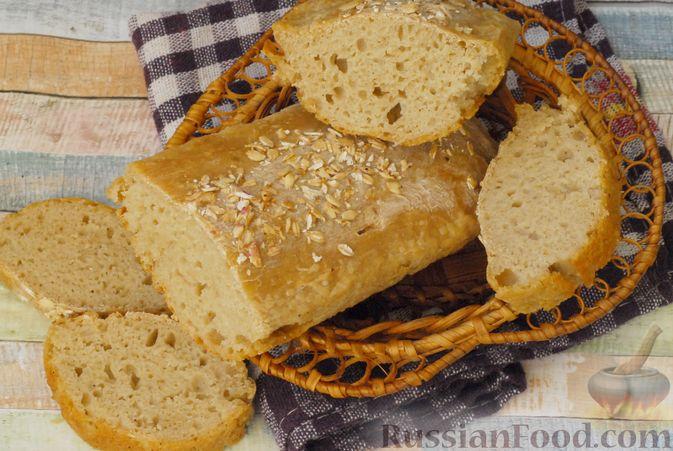 Фото к рецепту: Пшенично-овсяный хлеб