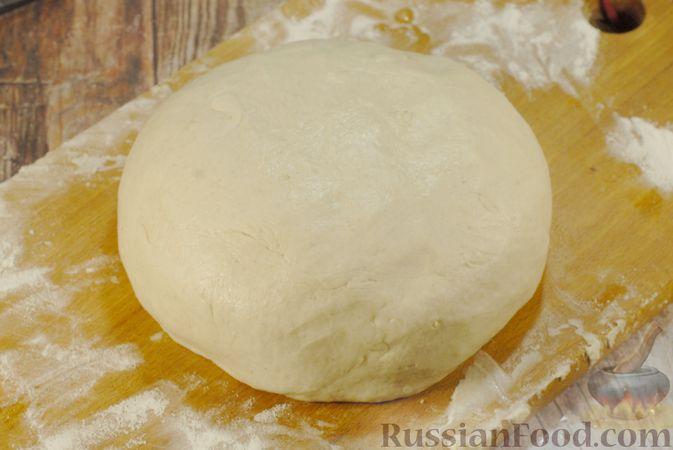 Фото приготовления рецепта: Пшенично-овсяный хлеб - шаг №5