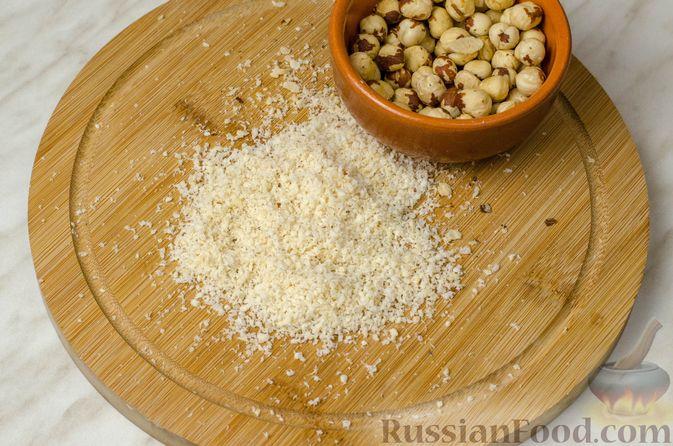 Фото приготовления рецепта: Свиная корейка на кости, запечённая в ягодно-медовом маринаде - шаг №13