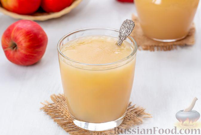 Фото к рецепту: Яблочный кисель