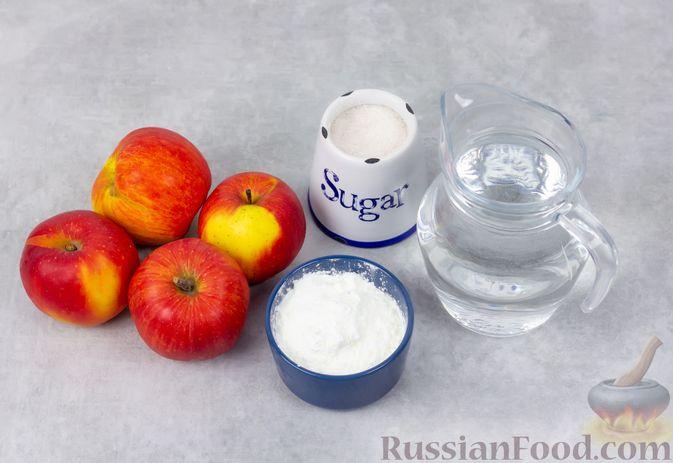 Фото приготовления рецепта: Яблочный кисель - шаг №1