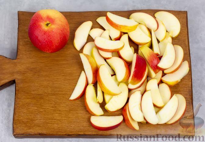 Фото приготовления рецепта: Яблочный кисель - шаг №2