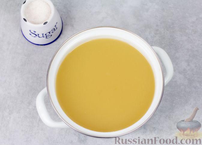 Фото приготовления рецепта: Яблочный кисель - шаг №6