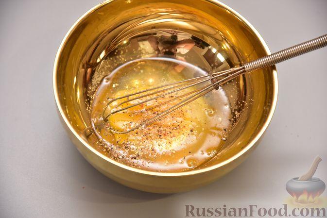 Фото приготовления рецепта: Гренки с яйцом - шаг №5