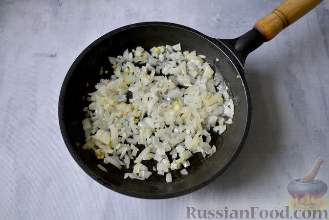 Фото приготовления рецепта: Хинкали с картофелем и сыром сулугуни - шаг №6
