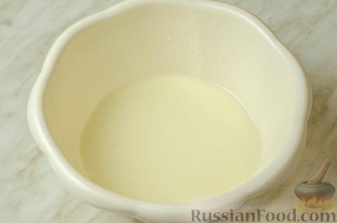 Фото приготовления рецепта: Запеканка-пирог из куриного филе с плавленым сыром - шаг №3