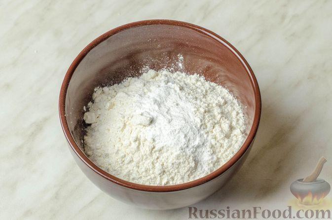 Фото приготовления рецепта: Запеканка-пирог из куриного филе с плавленым сыром - шаг №4