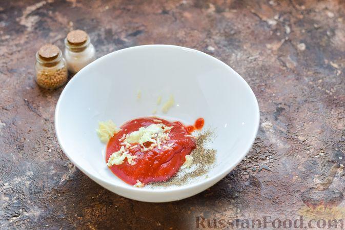 Фото приготовления рецепта: Курица с брокколи и стручковой фасолью - шаг №4