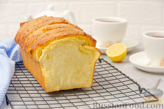 Фото к рецепту: Отрывной сладкий хлеб с сахарной корочкой