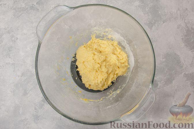 Фото приготовления рецепта: Отрывной сладкий хлеб с сахарной корочкой - шаг №7