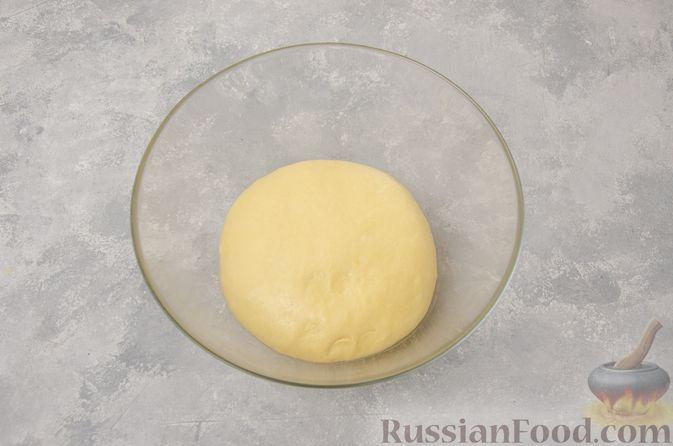 Фото приготовления рецепта: Отрывной сладкий хлеб с сахарной корочкой - шаг №10