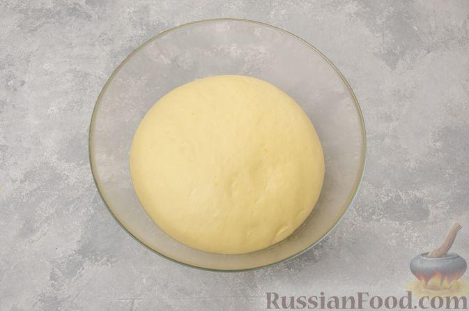Фото приготовления рецепта: Отрывной сладкий хлеб с сахарной корочкой - шаг №11