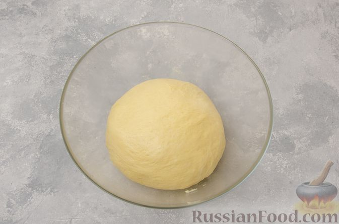 Фото приготовления рецепта: Отрывной сладкий хлеб с сахарной корочкой - шаг №12