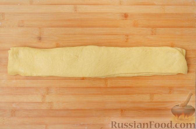 Фото приготовления рецепта: Отрывной сладкий хлеб с сахарной корочкой - шаг №16