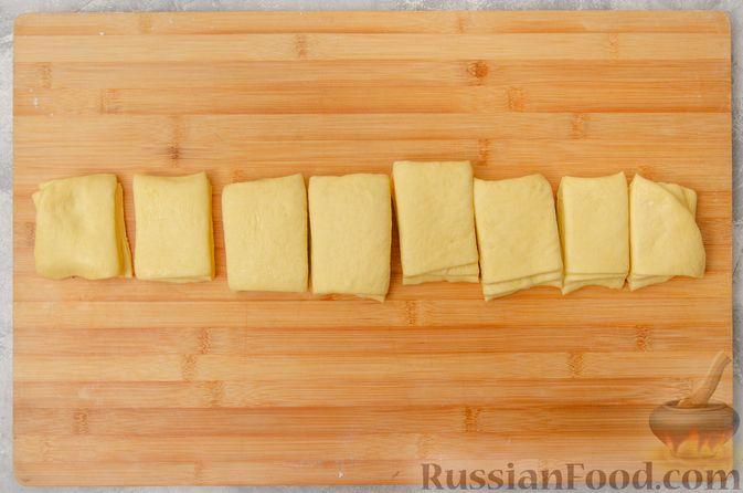 Фото приготовления рецепта: Отрывной сладкий хлеб с сахарной корочкой - шаг №17