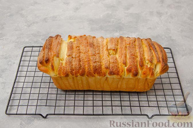 Фото приготовления рецепта: Отрывной сладкий хлеб с сахарной корочкой - шаг №22