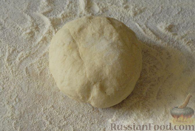 Фото приготовления рецепта: Вареники с черносливом и творогом - шаг №9