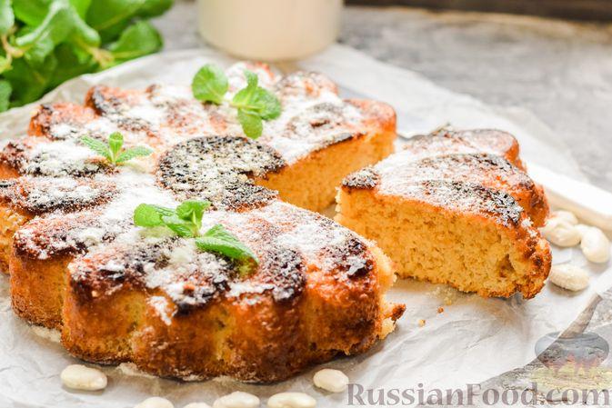 Фото к рецепту: Сладкий пирог из белой фасоли