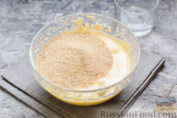 Фото приготовления рецепта: Сладкий пирог из белой фасоли - шаг №8