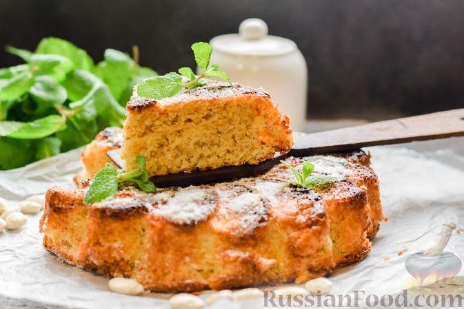 Фото приготовления рецепта: Сладкий пирог из белой фасоли - шаг №15
