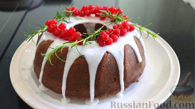 Фото к рецепту: Рождественский кекс на пиве