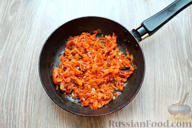 Фото приготовления рецепта: Суп с говядиной и булгуром - шаг №5