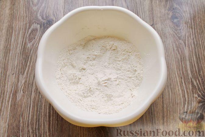 Фото приготовления рецепта: Песочный тарт с творогом и ананасами - шаг №2