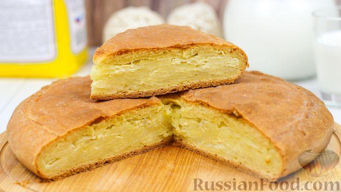 Фото к рецепту: Пирог с картошкой