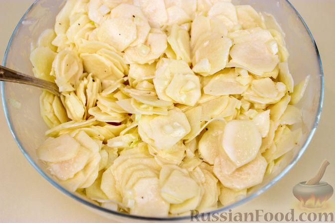 Фото приготовления рецепта: Пирог с картошкой - шаг №5